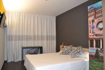 Habitación doble  del hotel Byb Albacete