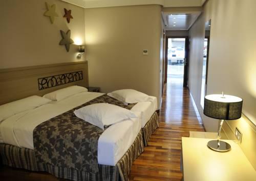 Habitación doble  del hotel CUMBRIA