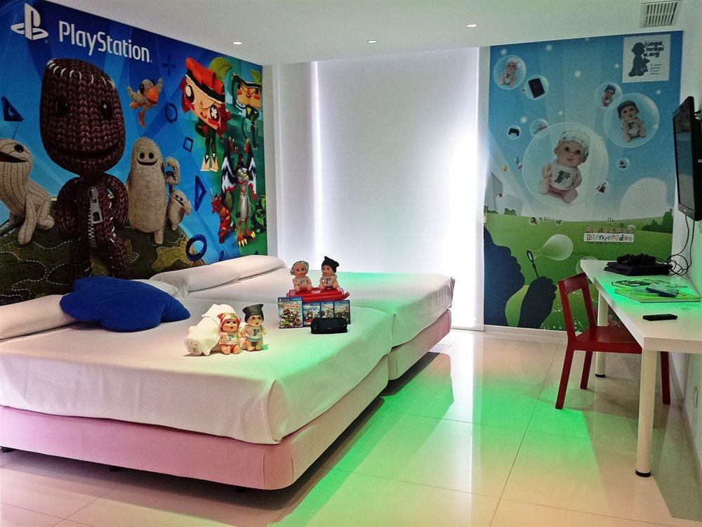 Habitación doble  del hotel Del Juguete