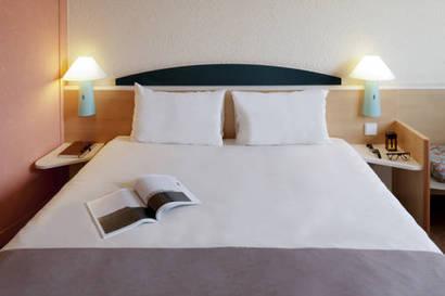 Habitación doble  del hotel Ibis Madrid Getafe