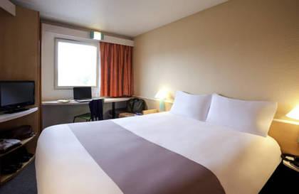 Habitación doble  del hotel Ibis Madrid Getafe. Foto 1