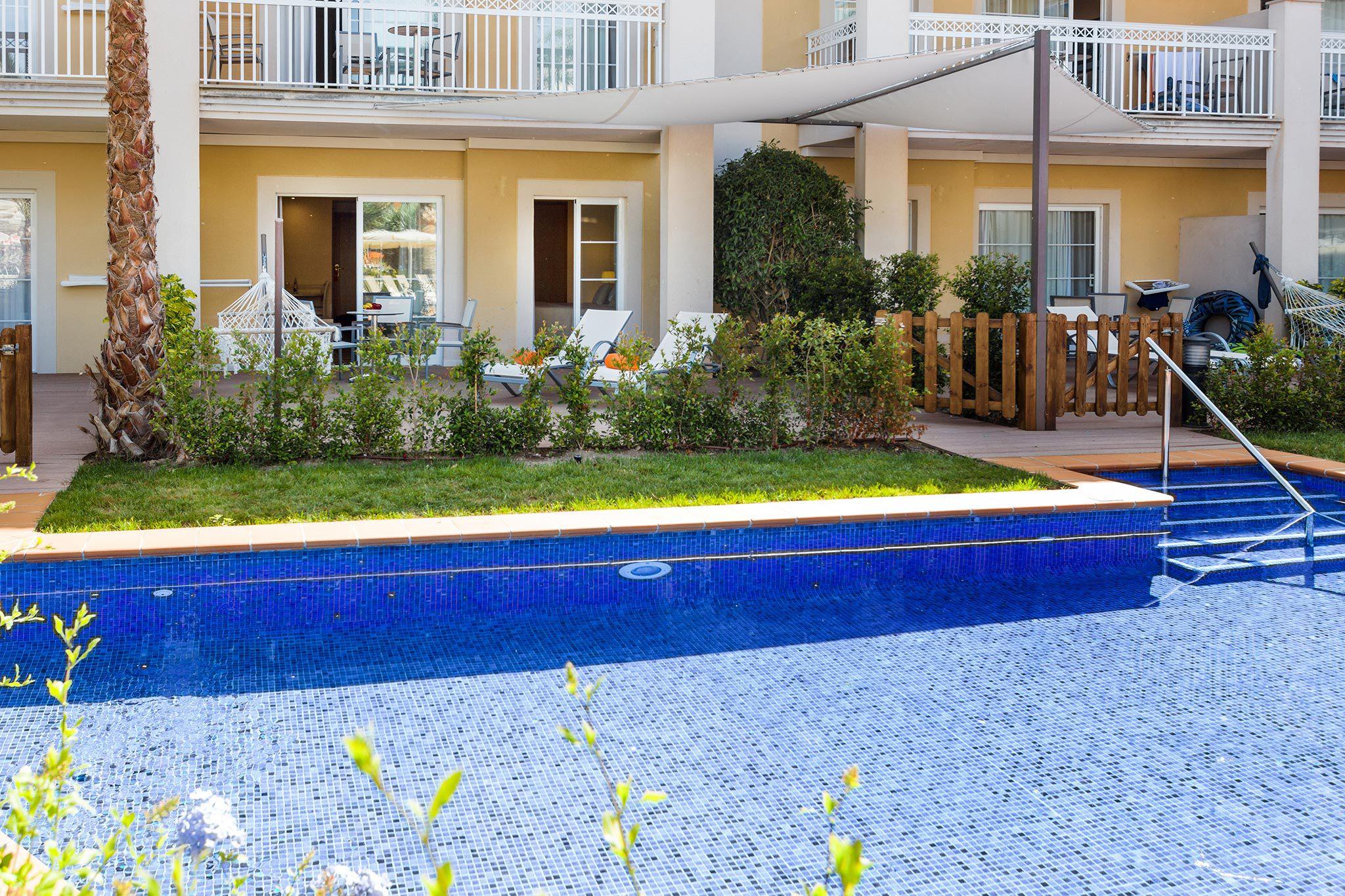 Apartamento Swim Up del hotel Zafiro Can Picafort. Foto 1