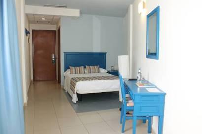 Habitación doble Interior del hotel El Cabo
