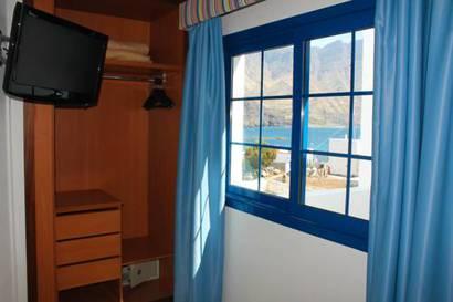 Habitación doble Interior del hotel El Cabo. Foto 1
