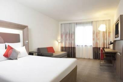 Habitación doble Ejecutiva del hotel Novotel Brussels Off Grand Place