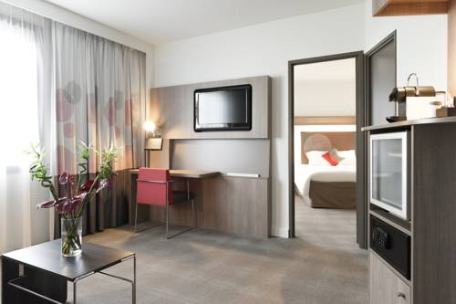 Suite Ejecutiva del hotel Novotel Brussels Off Grand Place
