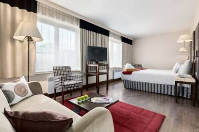 Junior suite  del hotel NH Brussels Grand Place Arenberg