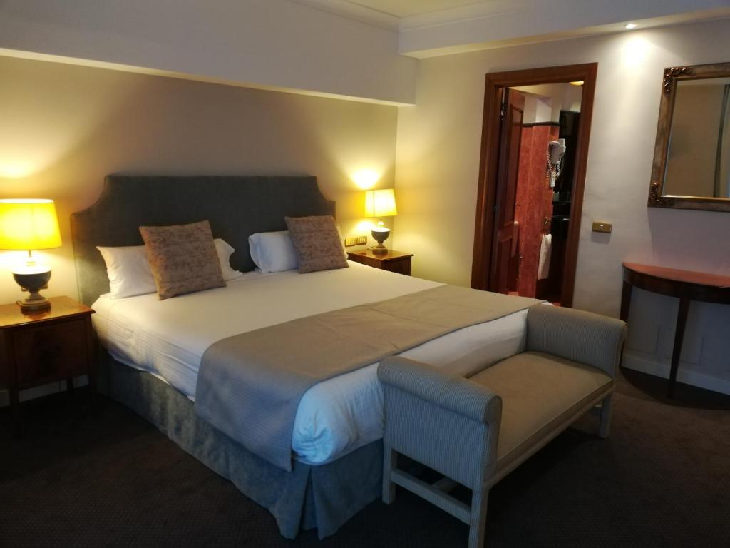 Habitación doble  del hotel IZAN AVENUE LOUISE