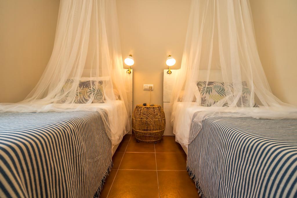 Habitación doble  del hotel Hostal Banti